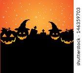 happy halloween | Shutterstock .eps vector #146359703