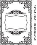 modern frame isolated on white   Shutterstock .eps vector #146419157