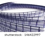 film strip  depth of field   | Shutterstock . vector #146422997