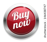 big round red buy now button | Shutterstock .eps vector #146438747