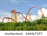 roller coaster   Shutterstock . vector #146467157