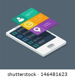 isometric mobile application...