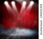 background in show. interior... | Shutterstock . vector #146531333