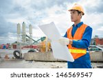 image of a foreman with a... | Shutterstock . vector #146569547