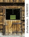 Picture Of A Wooden Door Of A...