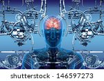 technology  cybernetics and... | Shutterstock . vector #146597273