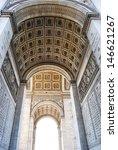 triumphal arch  paris | Shutterstock . vector #146621267