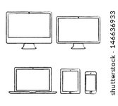 Hand Drawn Electronic Devices...
