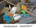 Marine Garbage Washed Ashore I...