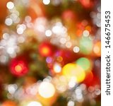 festive christmas background of ... | Shutterstock . vector #146675453
