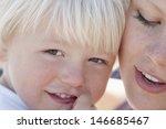 closeup of cute little boy... | Shutterstock . vector #146685467