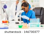 young indian medical researcher ... | Shutterstock . vector #146730377