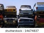 rusty european cars   Shutterstock . vector #14674837