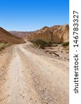 Dirt Road Of The Canyon In The...