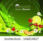 taste of summer. eps 10 file... | Shutterstock .eps vector #146814827