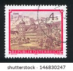 austria   circa 1988  stamp...   Shutterstock . vector #146830247