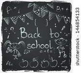Hand Drawn Back To School...