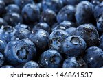 blueberries background | Shutterstock . vector #146861537