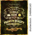 calligraphic design elements ...   Shutterstock .eps vector #146866163