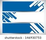 website header or banner set. | Shutterstock .eps vector #146930753