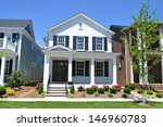 brand new white suburban... | Shutterstock . vector #146960783