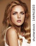 portrait of beautiful woman...   Shutterstock . vector #146961833