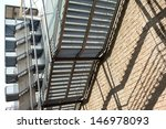 external metal stairs | Shutterstock . vector #146978093