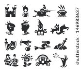 fairy tale icons | Shutterstock .eps vector #146983637