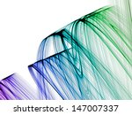 beautiful abstract fantasy... | Shutterstock . vector #147007337