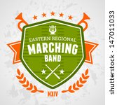 Marching Band Drum Corp Emblem...
