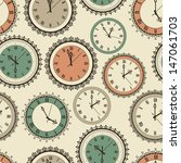 vector seamless pattern with... | Shutterstock .eps vector #147061703