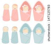 vector illustration newborn...   Shutterstock .eps vector #147125783