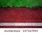 Texture Of Running Track Cover...