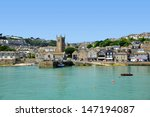 st ives harbour cornwall... | Shutterstock . vector #147194087