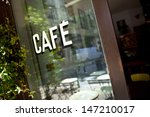 window of an old bistro in... | Shutterstock . vector #147210017