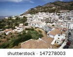 mijas in province of malaga ... | Shutterstock . vector #147278003