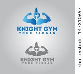 knight icon for gym... | Shutterstock .eps vector #147310697