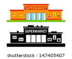 set of supermarket | Shutterstock .eps vector #147405407
