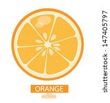Orange Fruits Vector...