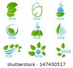 ecology icon set | Shutterstock .eps vector #147430517