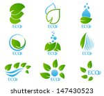 ecology icon set | Shutterstock . vector #147430523