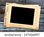 vintage photo retro style  | Shutterstock . vector #147436097