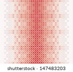 Seamless Pattern Of Red And...
