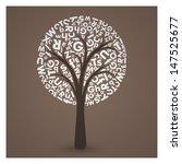 elegant letter tree eps10...   Shutterstock .eps vector #147525677