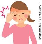 woman | Shutterstock .eps vector #147569897