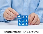 human resources  sales force ... | Shutterstock . vector #147575993