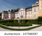 Rococo Castle Nove Hrady With...