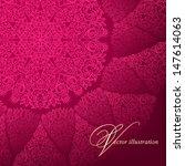 openwork circular pattern on a... | Shutterstock .eps vector #147614063