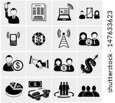 finance   bisiness icons set. | Shutterstock .eps vector #147633623