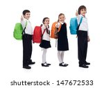back to school concept with... | Shutterstock . vector #147672533